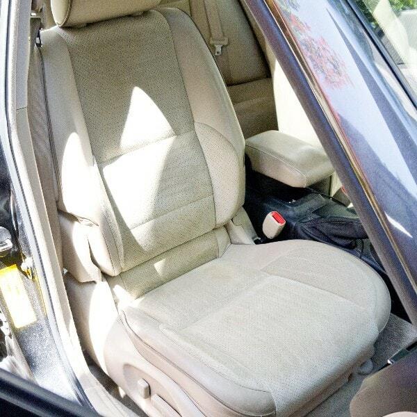 Car cleaning hack passenger car seat