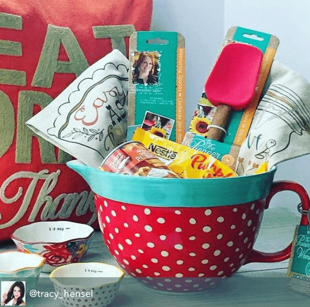 DIY Gift Basket with Baking Tools