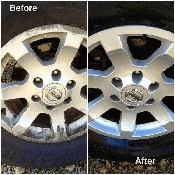 car rim and tires
