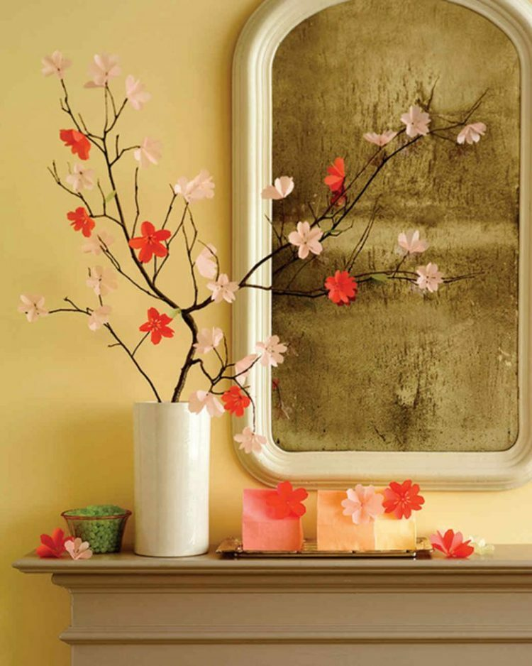 spring crafts cherry blossoms