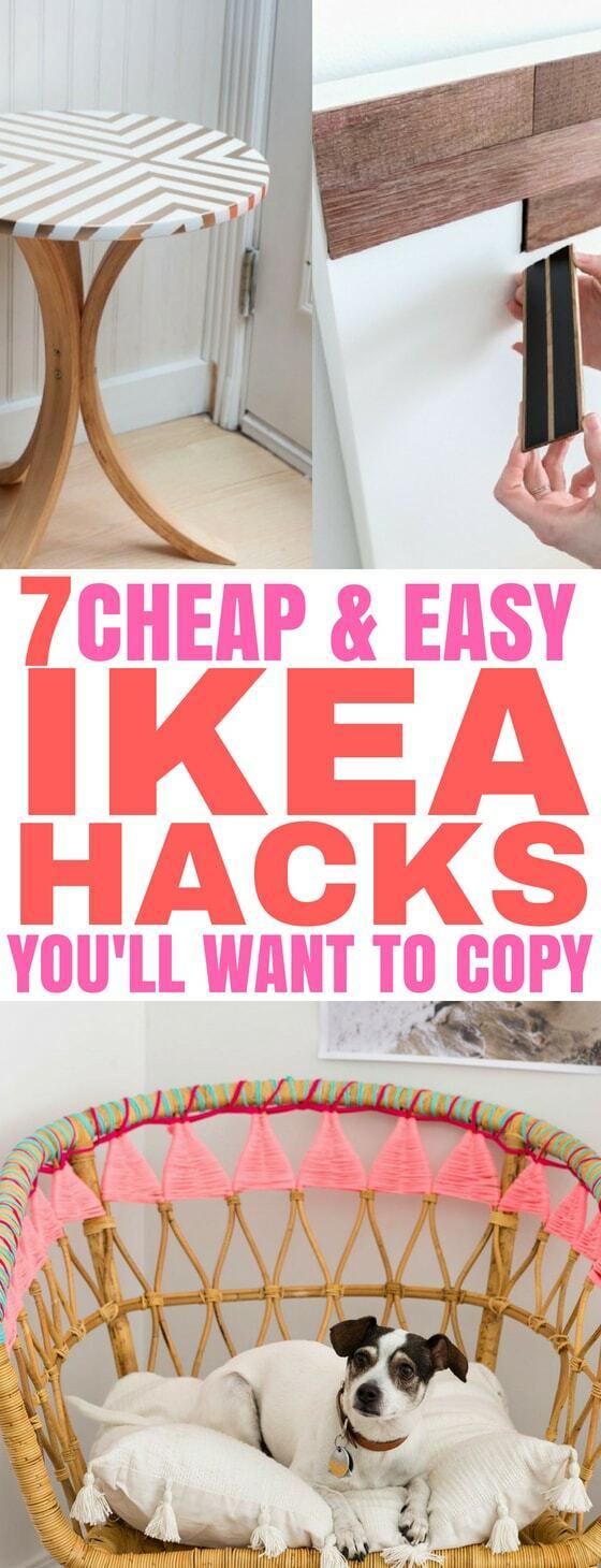 Ikea Hacks Pin