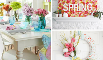 Fun & Easy Spring Crafts To DIY This Season