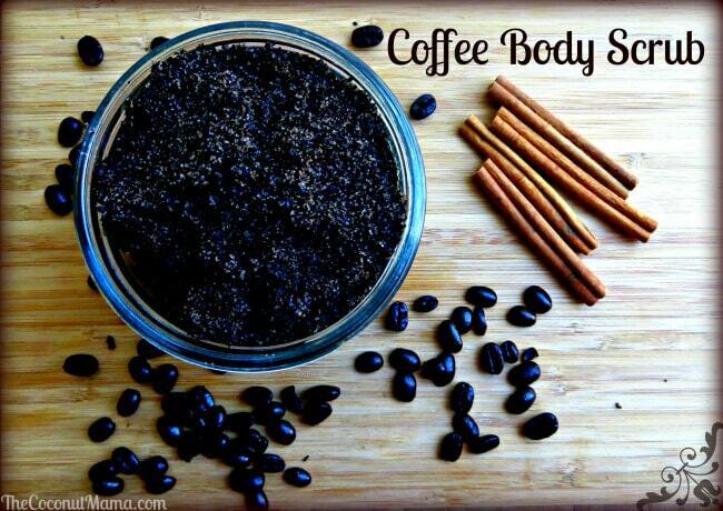 DIY Sugar Scrub with Coffee