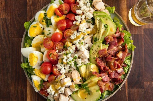 summer salads cobb salad
