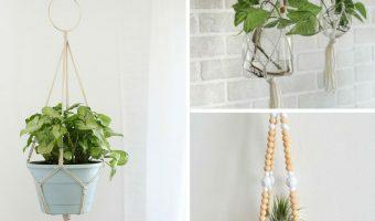 9 Cheap & Easy DIY Macrame Plant Hangers