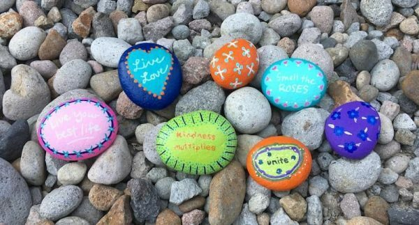 Kind Quote Painted Rocks