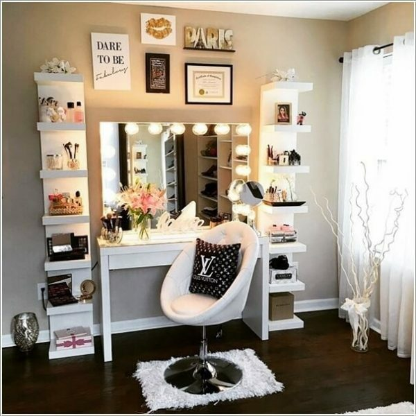 8 Easy Diy Makeup Vanity Ideas You Cannot Miss Balancing Bucks