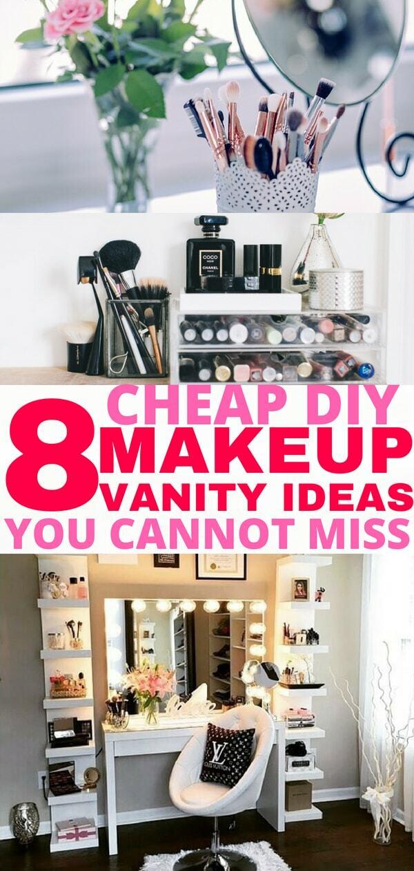 8 Easy Diy Makeup Vanity Ideas You Cannot Miss Balancing Bucks