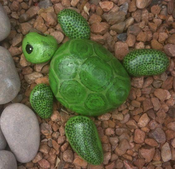 turtle painted rocks