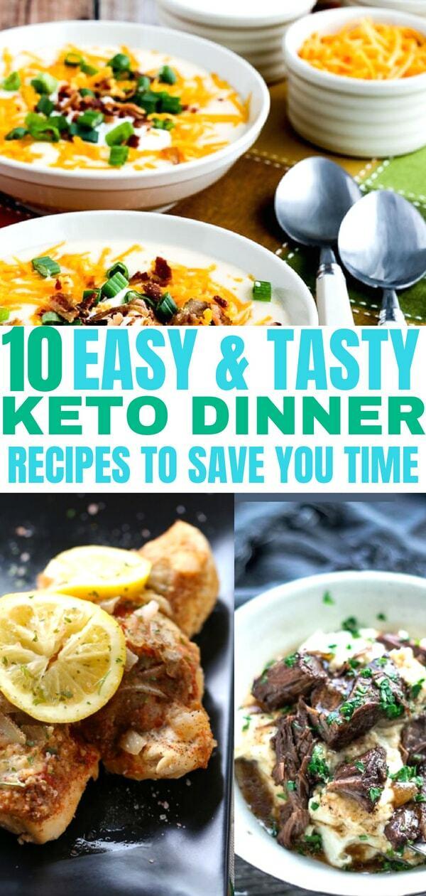 10 Easy Instant Pot Keto Dinner Recipes