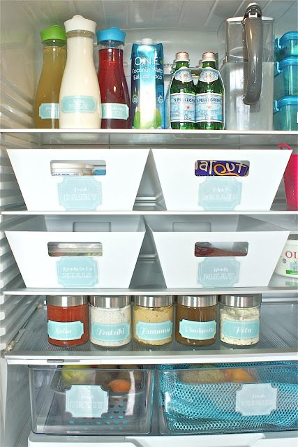 Brilliant Fridge Organization Hacks