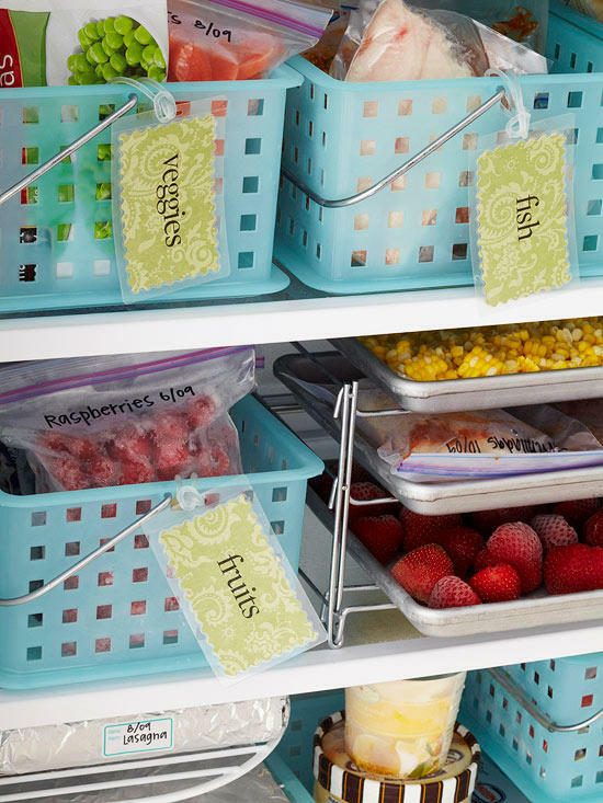 7 Brilliant Fridge Organization Ideas