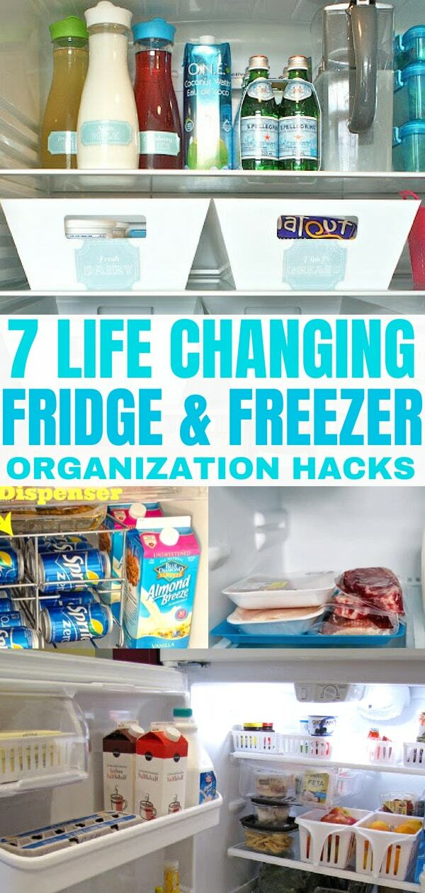 7 Life Changing Fridge Organization Hacks