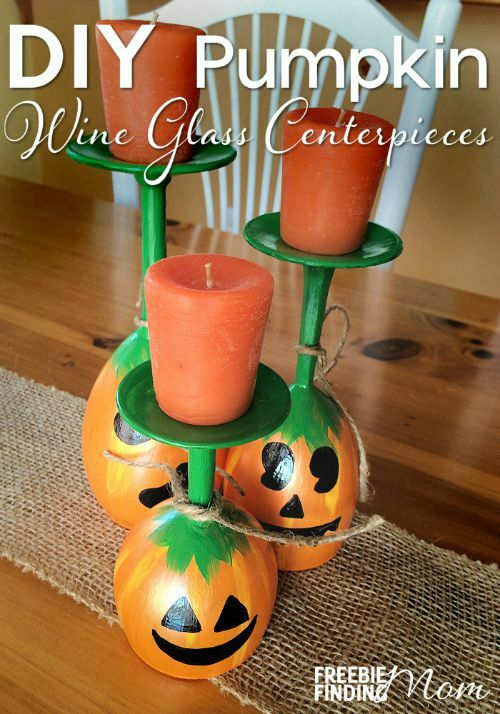 DIY Fall decor ideas. These Fall craft ideas will make your home feel like Fall.