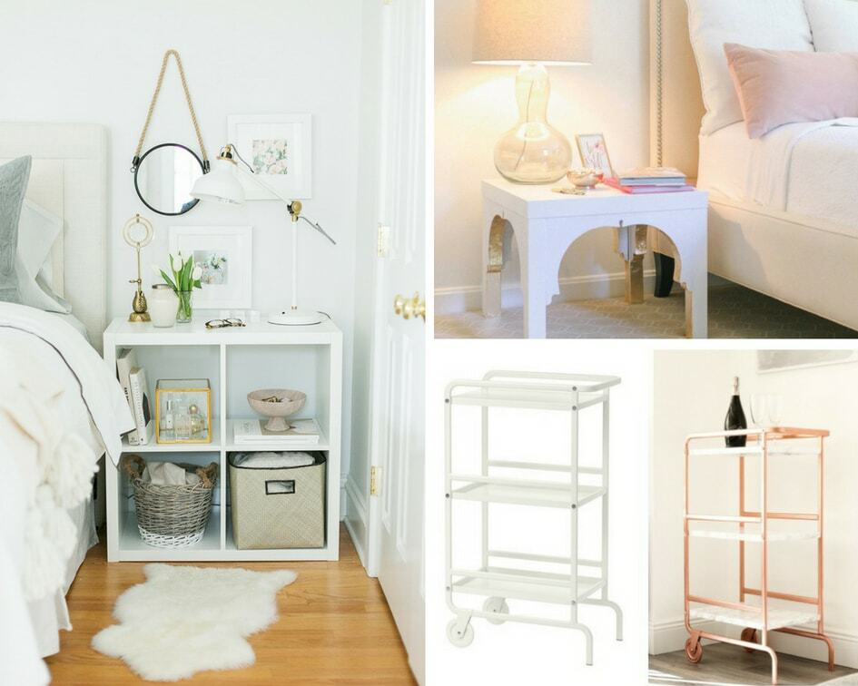 Easy Ikea hacks that are the perfect bedroom decor ideas. Rental friendly decor to upgrade your bedroom!