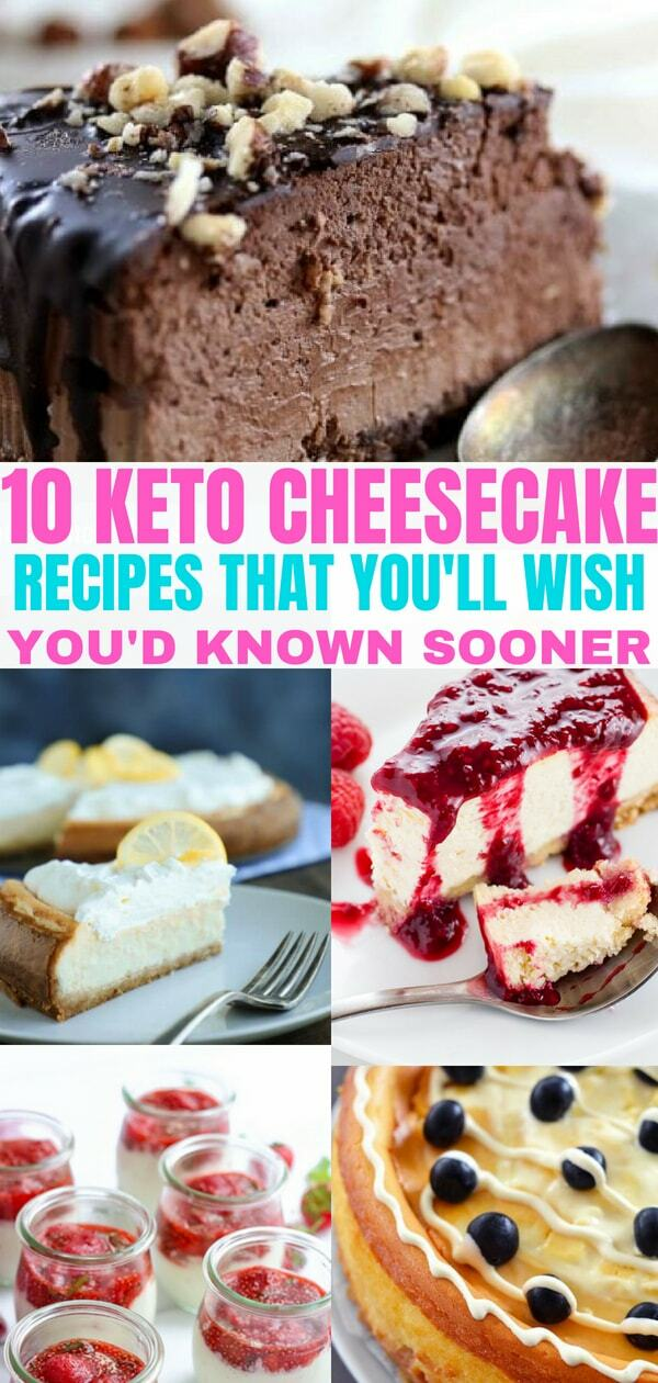 Easy Keto cheesecake recipes that taste delicious. All recipes are low carb, and sugar free. Checkout these Keto cheesecake recipes and add them to your Keto diet plan!