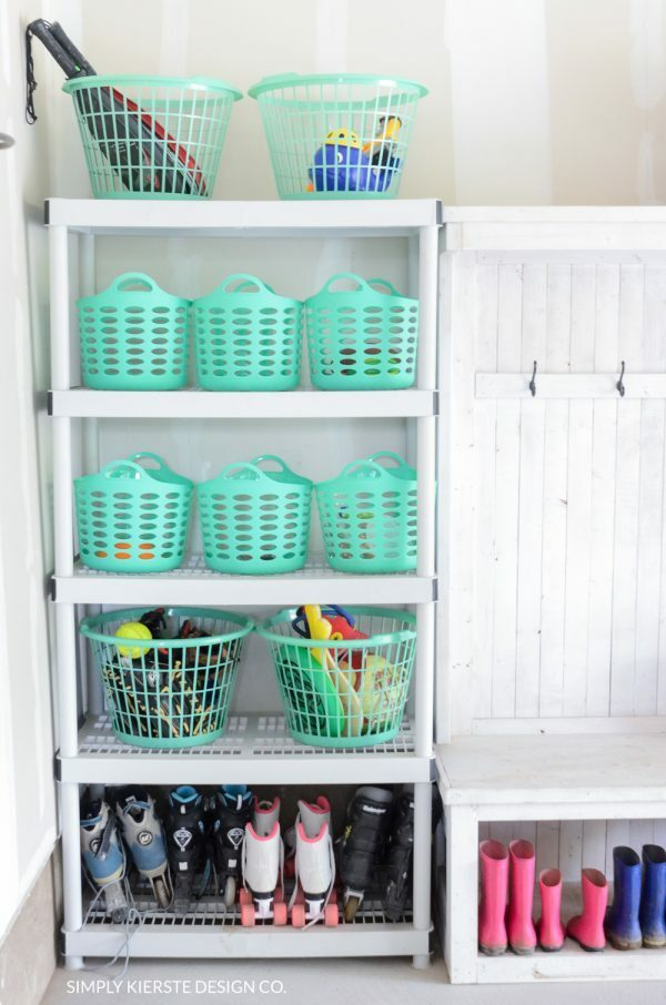 Easy Dollar Tree organization ideas to help you organize everything in your home.