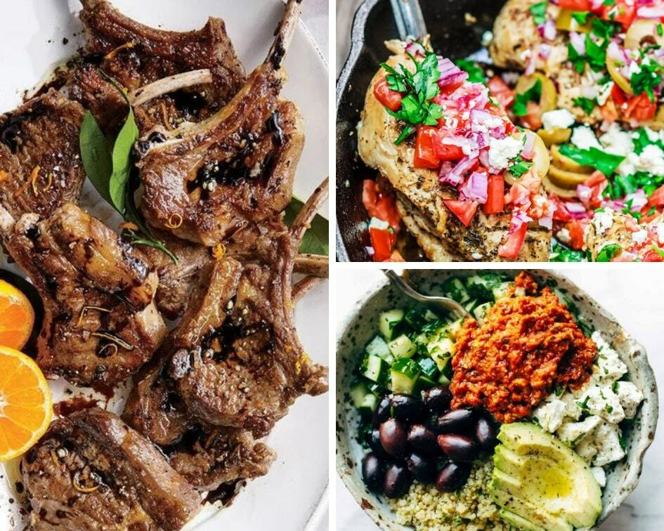 Mediterranean diet recipes to help you lost weight a eat healthier.