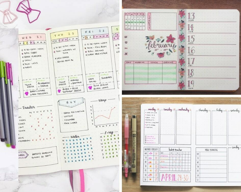 10 Weekly Bullet Journal Layout Ideas That'll Keep You Organized