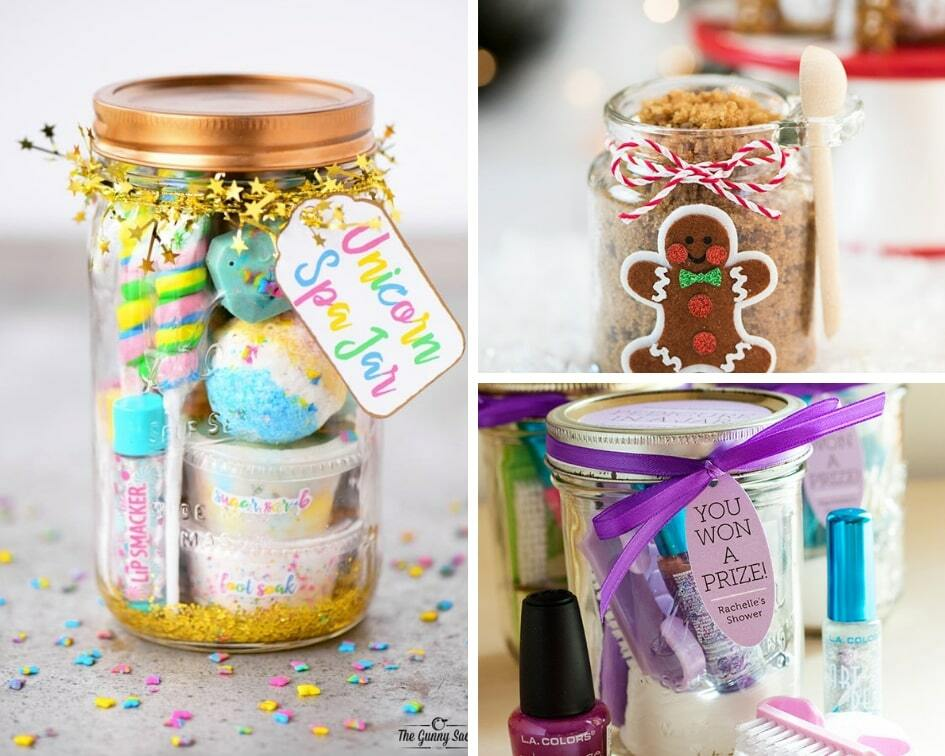 Have you ever found yourself wondering about the perfect gift idea to give someone only to come up with nothing? They say u201cItu0027s the thought that countsu201d ... & 23 DIY Mason Jar Gift Ideas That Everyone Will Love - Balancing Bucks