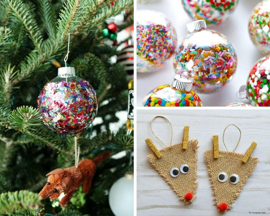 17 Easy Diy Christmas Ornaments For Your Tree This Year Balancing