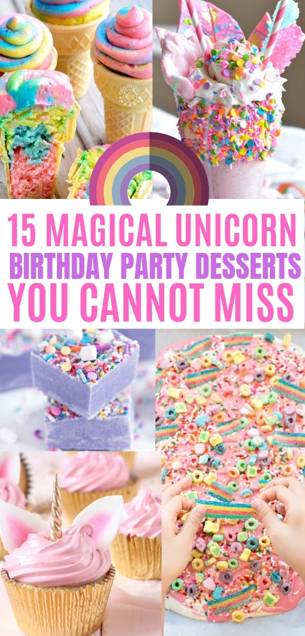 15 Magical Unicorn Birthday Party Ideas - Balancing Bucks
