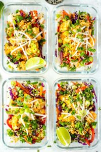 Sweet Chili Thai Chicken: Meal Prep for Weight Loss