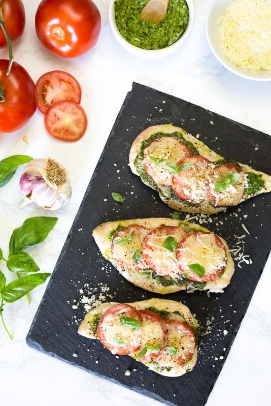 Weight Watchers Recipes | Baked Pesto Chicken