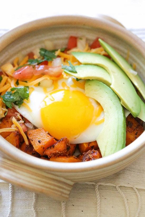 Weight Watchers Recipes | Burrito Breakfast Bowl